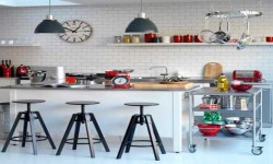 5-contemporary-black-and-white-kitchens-ideas-Industrial-chic-kitchen