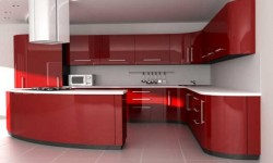 kitchen-cabinets-red