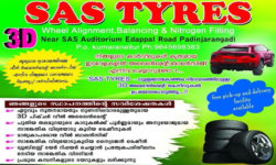 Sas Tyres Wheel Alignment Padinjarangadi Palakkad
